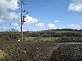 A wet field above Gappah - geograph.org.uk - 1753916.jpg