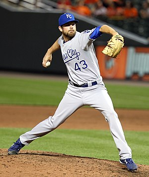 Aaron Crow - Crow with the Kansas City Royals
