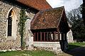 Abbess Roding - St Edmund's Church - Essex England - south porch.jpg