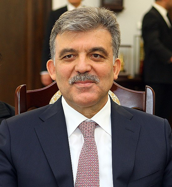 President of Turkey Abdullah Gül in the Polish Senate