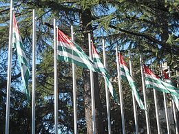 Abkhazian flags flying in Sukhumi.jpg
