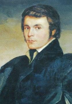 Portrait of Khachatur Abovian, by Ludwig von Maydell (1831)
