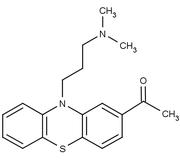 Struktur von Acepromazin
