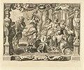 Achilles en de dochters van Lycomedus Geschiedenis van Achilles (serietitel), RP-P-OB-50.259.jpg