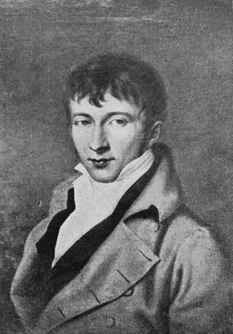 Adam Müller in his youth