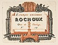 Address-card of the printseller, Rochoux MET DP813236.jpg