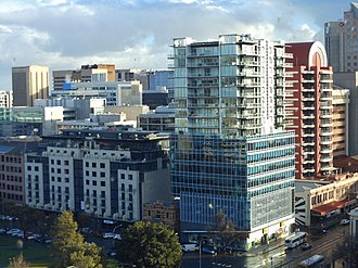 Hindmarsh Square - High rise developments in Hindmarsh Square