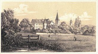Adelsdorf, Bavaria - Image: Adelsdorf 1