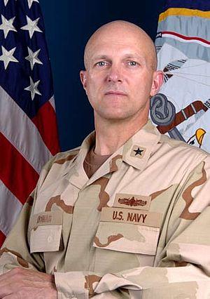 David M. Thomas Jr. - Image: Admiral David Thomas valedictory picture