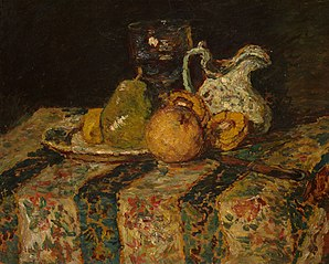 Still Life with Fruit and Wine Jug
