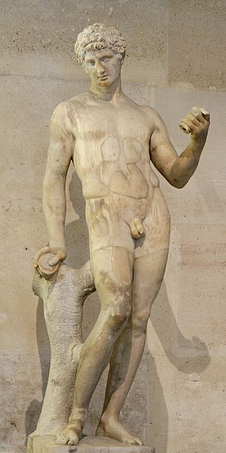 Physical attractiveness - Image: Adonis Mazarin Louvre MR239