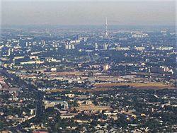 Aerial view of Tashkent, Uzbekistan.JPG