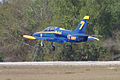 Aero Vodochody L-39C Albatros Blue7 Takeoff 07 TICO 13March2010 (14599388285).jpg