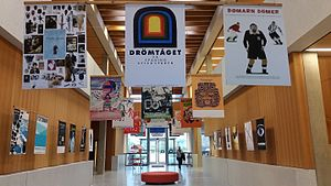 Exhibition - Poster exhibition in the lobby of the Swedish Exhibition Agency 2015