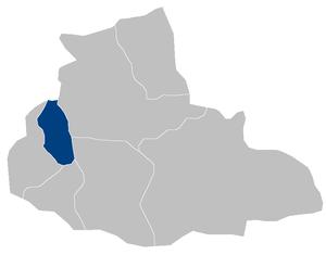 Muqur District, Badghis - Image: Afghanistan Badghis Muqur district location