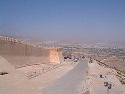 Murs d'enceinte d'Agadir Oufella