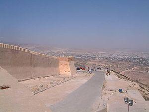 Fall of Agadir - Walls of the Kasbah of Agadir.