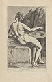 """Aganippe Fait partie du recueil """"Nimpharum oceanitidum, ephydridum potamidum, naiadum, lynadumque icones"""" - Pl. 15 1587 print by Philip Galle, S.V 88403, Prints Department, Royal Library of Belgium.jpg"""