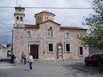 Drosopigi, Laconia - The church of Agios Nikolaos