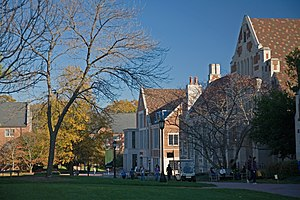 Agnes Scott College - Looking across the quad