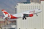 Airbus A319-113 'C-GBHZ - 279' Air Canada Rouge (28635430210).jpg