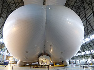 Hybrid Air Vehicles HAV 304/Airlander 10 - Airlander 10 in Hangar One at RAF Cardington, January 2016