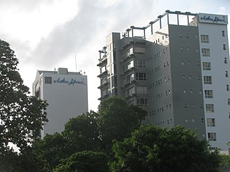 Aitken Spence - Aitken Spence Towers, Corporate Headquarters of Aitken Spence Group, in Colombo. 02.