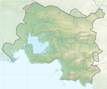 Carte topographique de la métropole