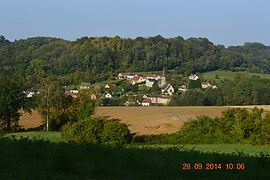 A general view of Aizy-Jouy