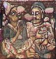 Ajanta Cave 2, ceiling foreigners.jpg