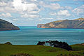 Akaroa Harbour entrance, Canterbury, New Zealand, 22nd. Nov. 2010 - Flickr - PhillipC.jpg