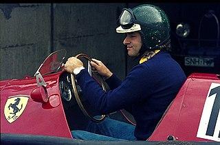 British racing driver and television presenter