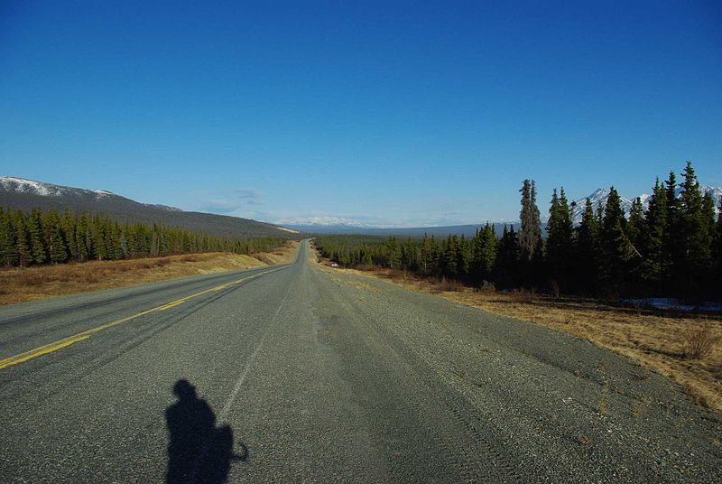 File:Alaska Highway Yukon.jpg