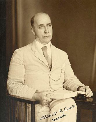 Albert Ruskin Cook - Albert Ruskin Cook in Uganda, c. 1930