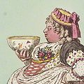 Albinia Hobart Albinia Enter Cowslip with a bowl of cream (cropped).jpg