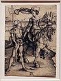 Albrecht dürer, donna a cavallo e lanzichenecco, 1497 ca.jpg