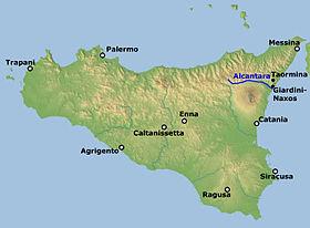 GOLE DI ALCANTARA - SICILIA