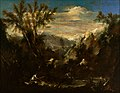 Alessandro Magnasco - Paisaje de los Alpes con figuras.jpg