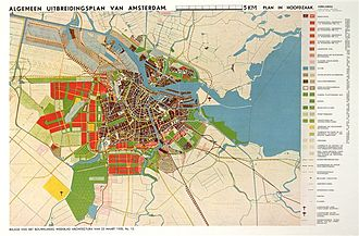 Amsterdam Nieuw-West - Algemeen Uitbreidingsplan (1935), the urban expansion plan for Nieuw-West.