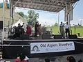 Algiers RiverFest 2012 Shannon Powell Trad Jazz All Stars.JPG