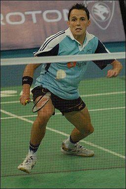 Alistair Casey - 2007 BWF World Championships