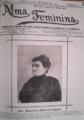 Alma Feminina, 31 de Outubro de 1907 - Carolina Beatriz Ângelo.PNG
