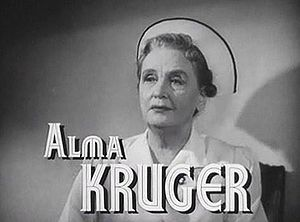 Dr. Gillespie's New Assistant - Alma Kruger in film