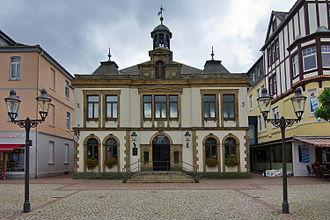 Peine - Image: Altes Rathaus von 1827 am Marktplatz in Peine IMG 2551