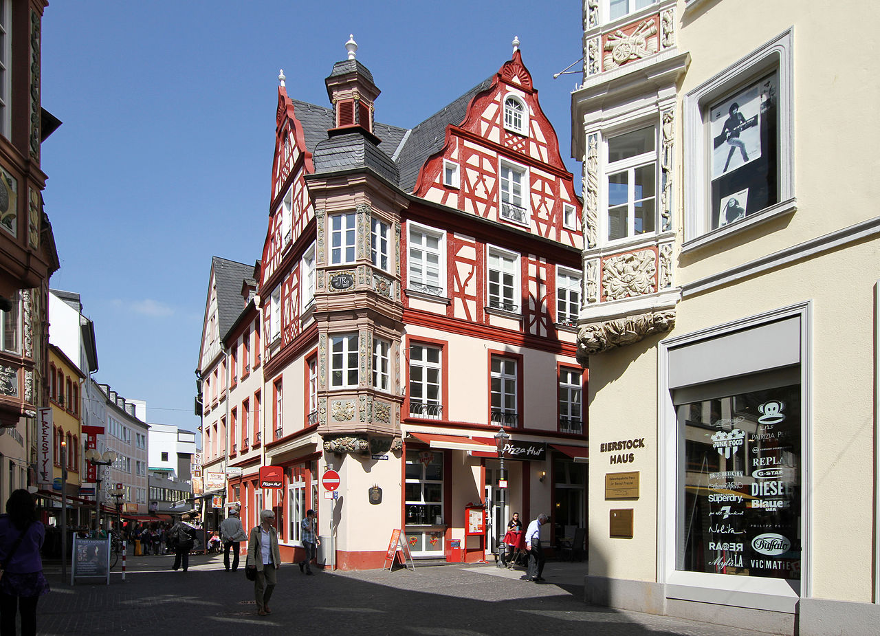 DateiAltstadt Koblenz, Fachwerk der Häusergruppe vier