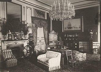 Yellow Mansion, Copenhagen - Prince Valdemar's living room, 1890