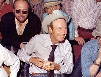Amarillo Slim - Amarillo Slim at the 1974 WSOP.