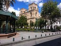 Amazing plaza. catch the bus. go to the hat museum, Homero Ortega Panama Hat Museum in Cuenca, Ecuador.jpg