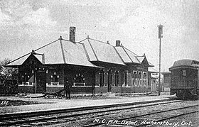 image illustrative de l'article Gare d'Amherstburg