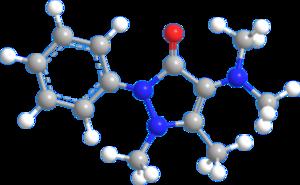 Aminophenazone - Image: Aminophenazone 3D balls